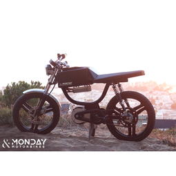 Monday Motorbikes Manufactures 100% electric bikes