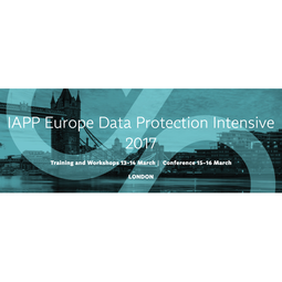IAPP Europe Data Protection Intensive 2017