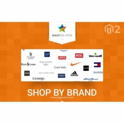 Free Magento 2 Shop by Brand extension