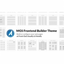 Free MGS Frontend builder theme